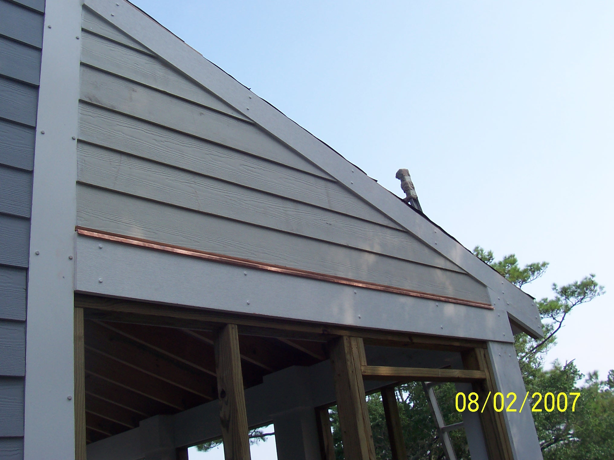 Polytop Nails on Azek board cladding in USA