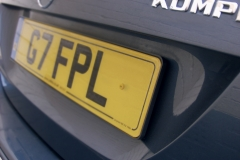 Polytop Numberplate Screws on vehicle registration plate