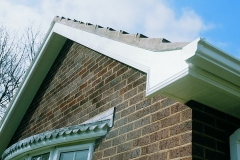 Polytop Pins & Nails on PVCU Fascia