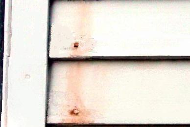 Coastal area corrosion
